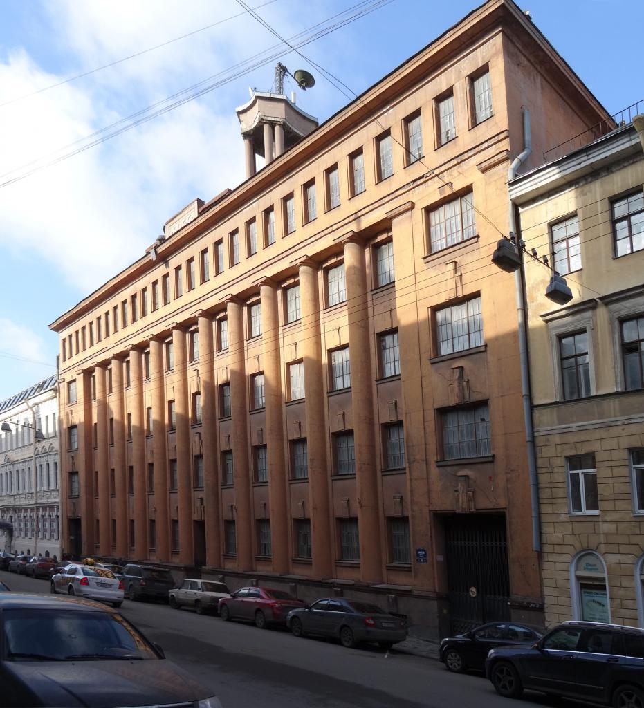 Здание Штаба Армии ПВО, Баксов пер., 16. Фото: citywalls.ru