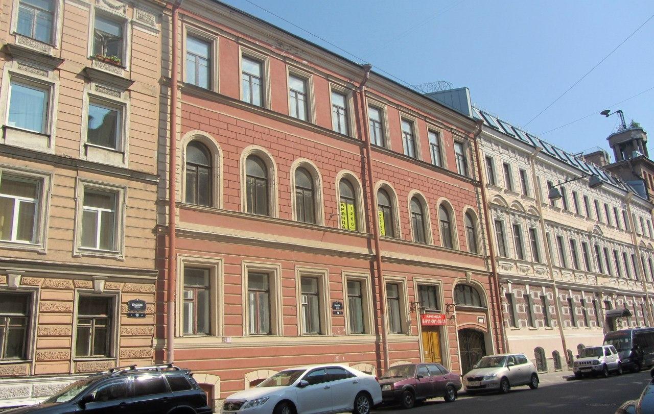Басков переулок. Фото: Татьяна Колтунова