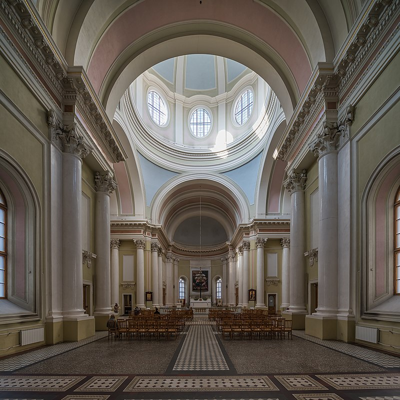Базилика Св.Екатерины, фото Автор: A.Savin (Wikimedia Commons)