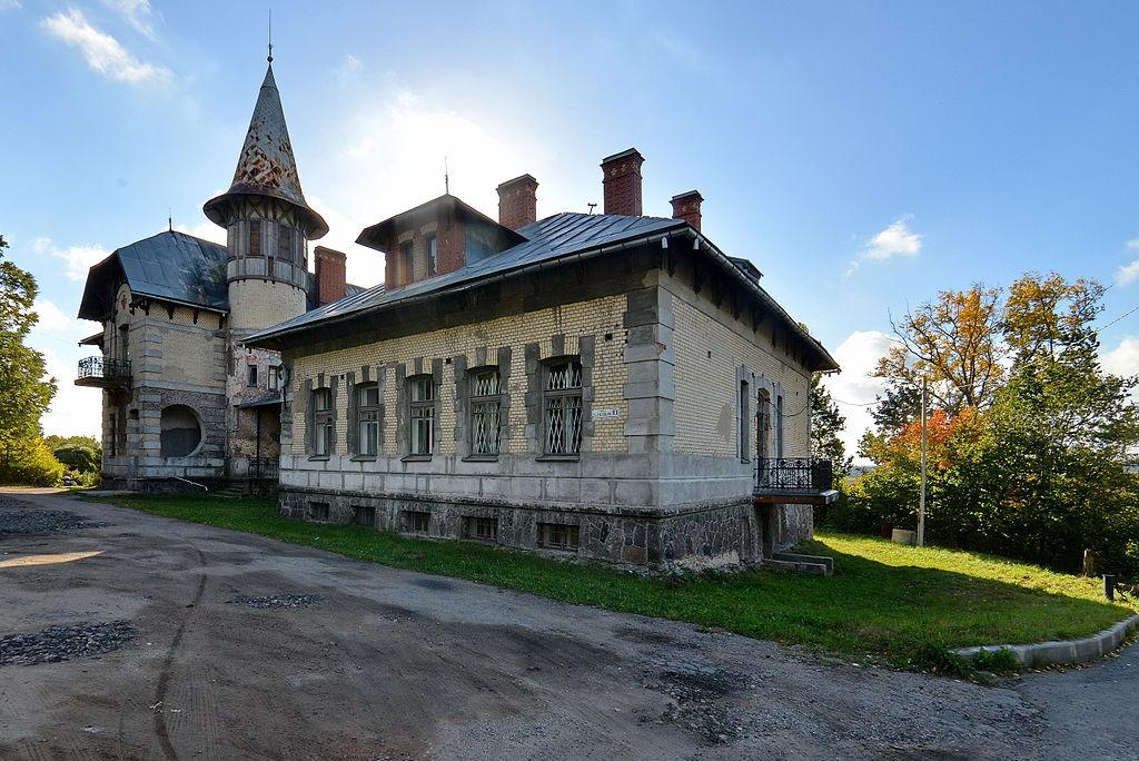 Больница (1901—1902) Общины сестёр милосердия св. Георгия. Фото: Dudergofer (Wikimedia Common)