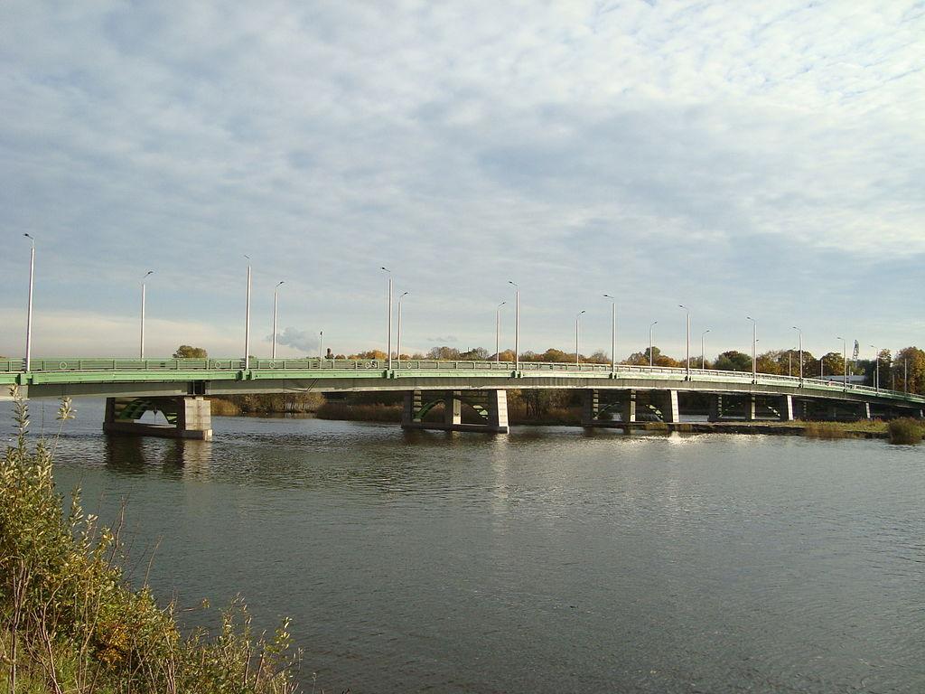 Большой Петровский мост через Малую Невку в Санкт-Петербурге. Фото: Wagon (Wikimedia Commons)