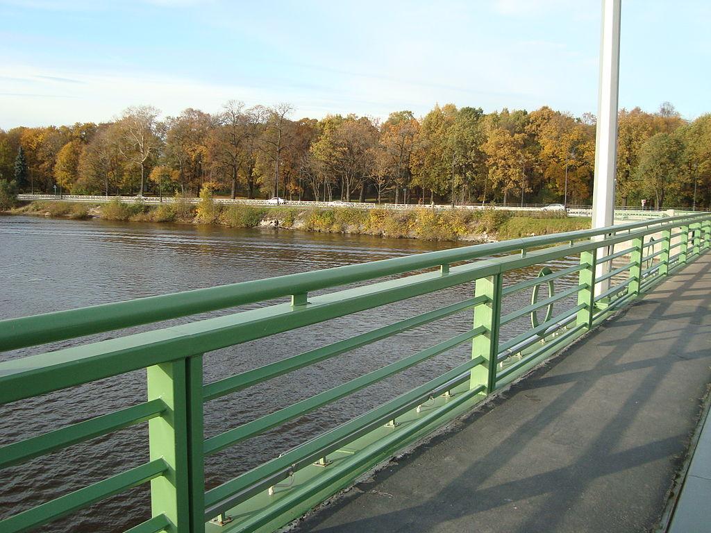 Пешеходная часть Большого Петровского моста. Фото: Wagon (Wikimedia Commons)