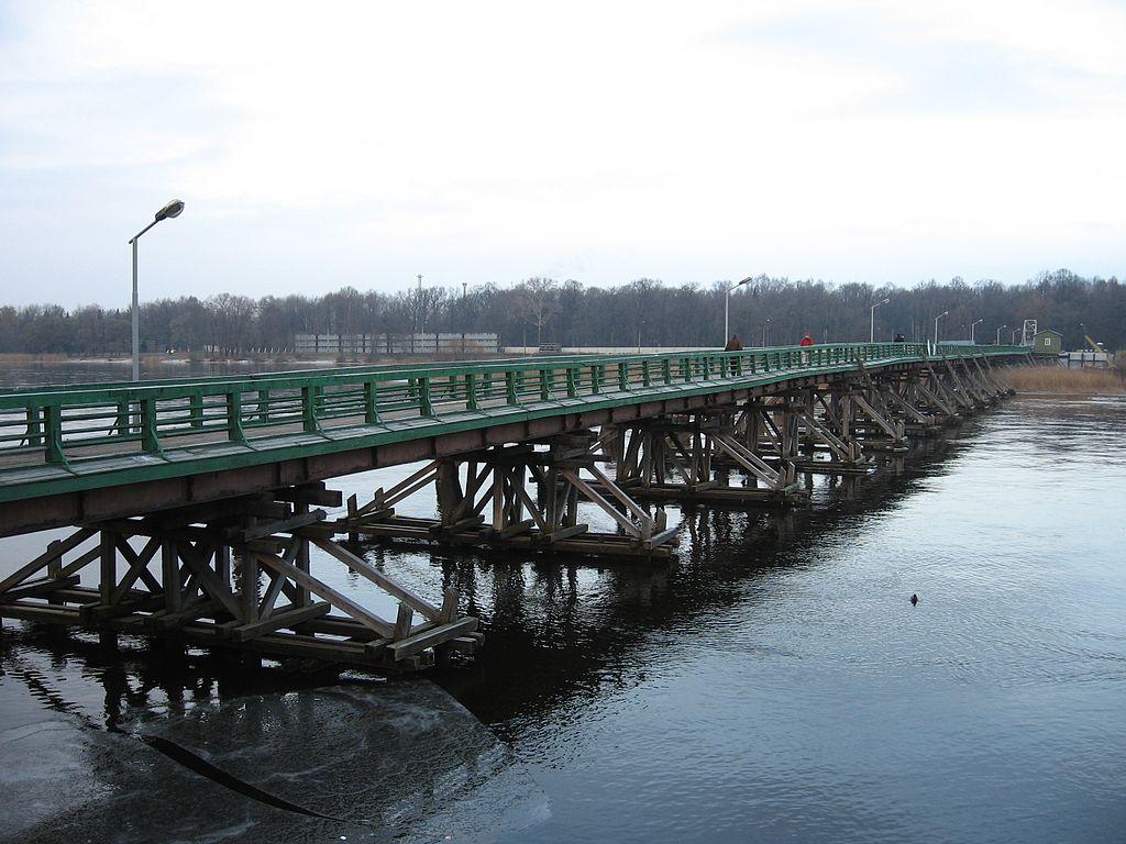 Большой Петровский мост через Малую Невку в Санкт-Петербурге, 2007 г. Фото: Dr.bykov (Wikimedia Commons)