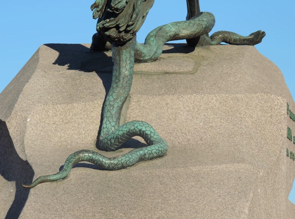 """Фрагмент памятника Петру I """"Медный всадник"""". Автор фото: Usynin (Wikimedia Commons)"""
