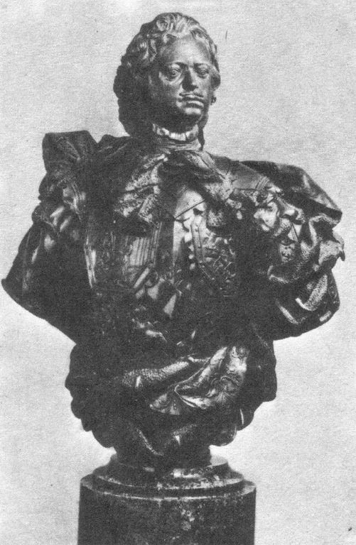 Бюст Петра I Карло Бартоломео Растрелли, источник фото: http://www.rsu.edu.ru/wordpress/wp-content/uploads/e-learning/History_of_Art/Pictures/Pict_47_102.html
