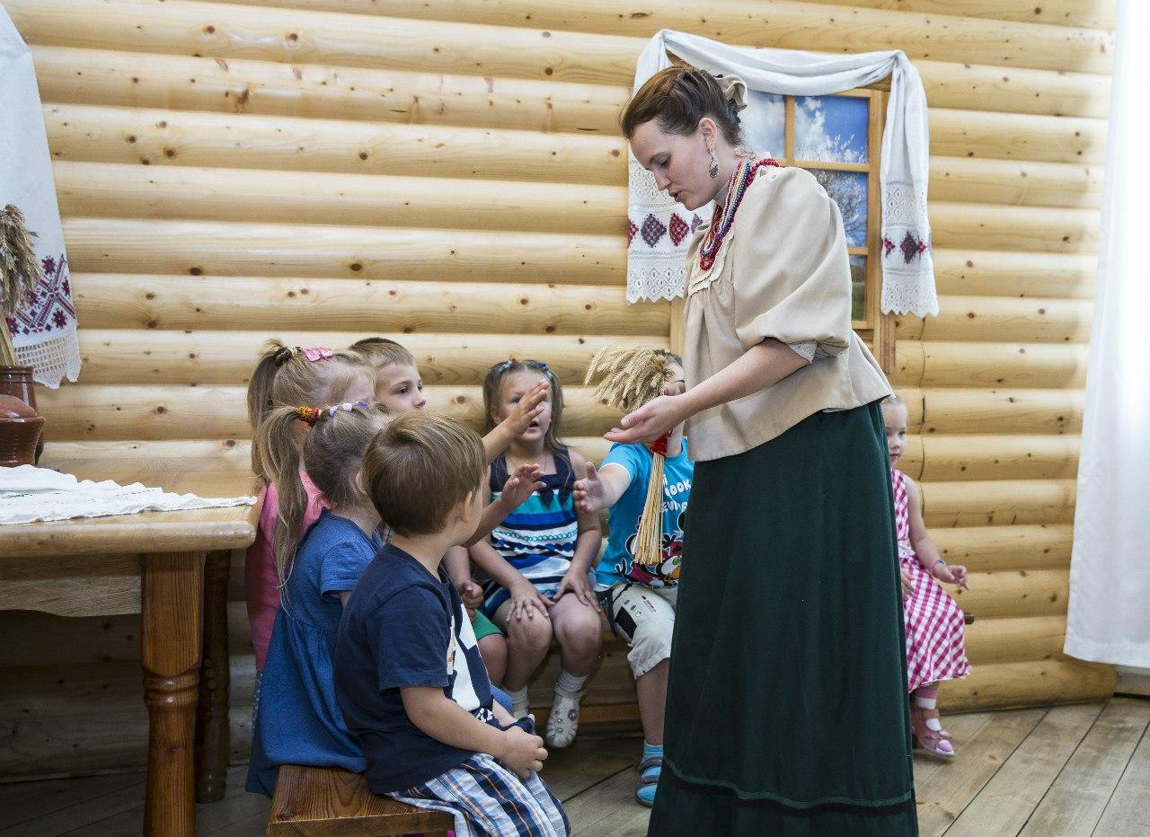 Этнографический музей детям. Фото: Варвара Кудрявцева (vk.com/ethnomuseum)
