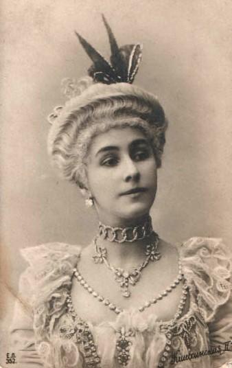 "Матильда Кшесинская в костюме к балету ""Камарго"", ок. 1902 г. Фото: Wikimedia Commons"
