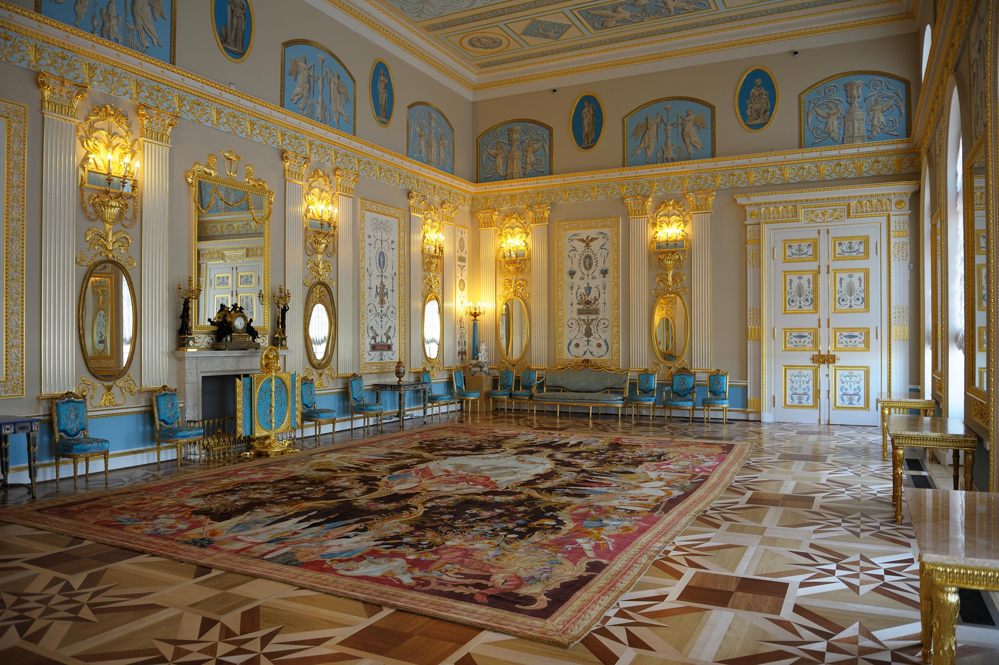Екатерининский дворец, Арабесковый зал. Автор фото: Aleks G (Wikimedia Commons)