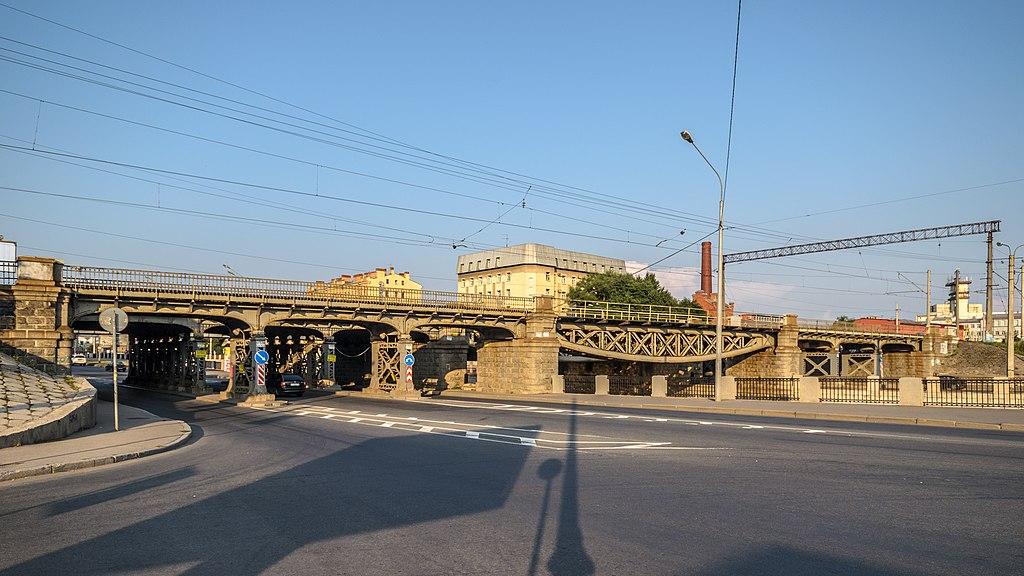 Царскосельский железнодорожный мост. Фото: Florstein (WikiPhotoSpace)