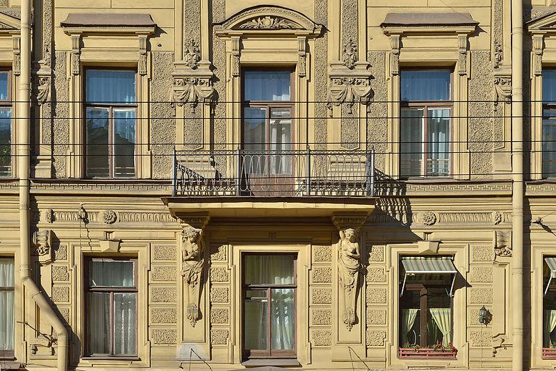 Доходный дом Гиллерме. Дом Ротина.  Автор: Moroder, Wikimedia Commons
