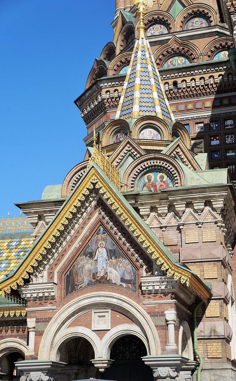 Церковь Спаса на Крови. Автор фото: PIERRE ANDRE LECLERCQ (Wikimedia Commons)