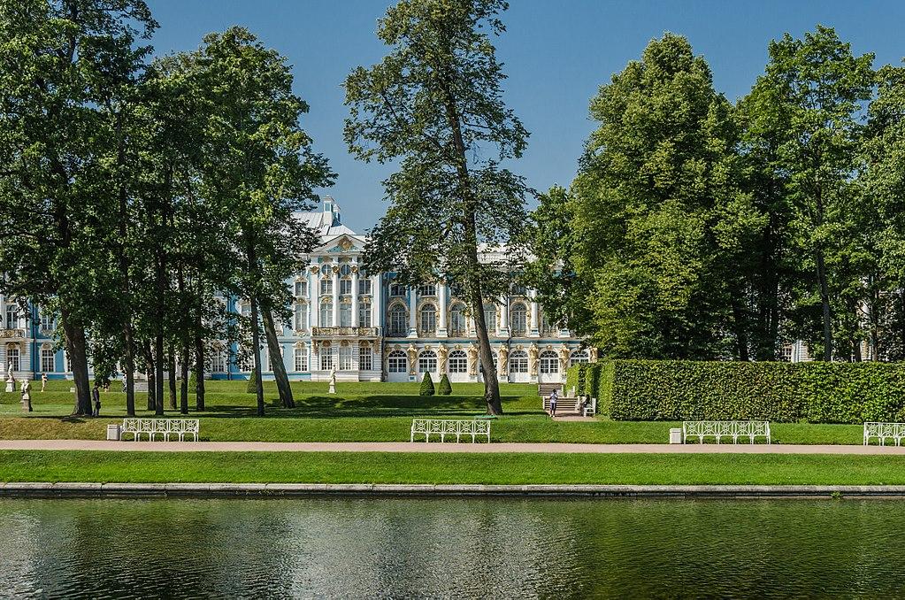 Екатерининский парк в Царском селе. Автор фото: Florstein (WikiPhotoSpace)