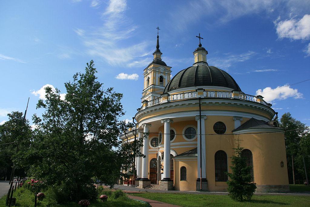 Храм Пророка Илии на Пороховых. Фото: Виктор Спиридонов