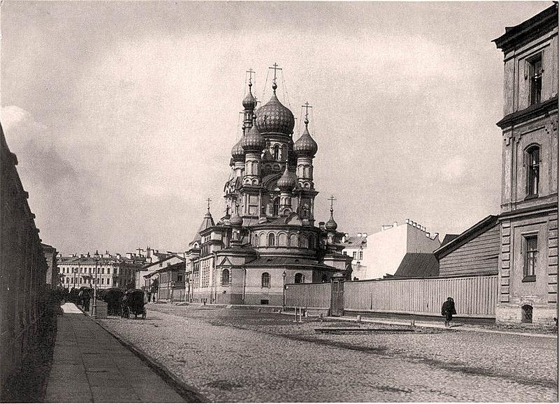 Церковь Шестоковской иконы Божией Матери до революции, источник фото: Wikimedia Commons, Автор: Unknown