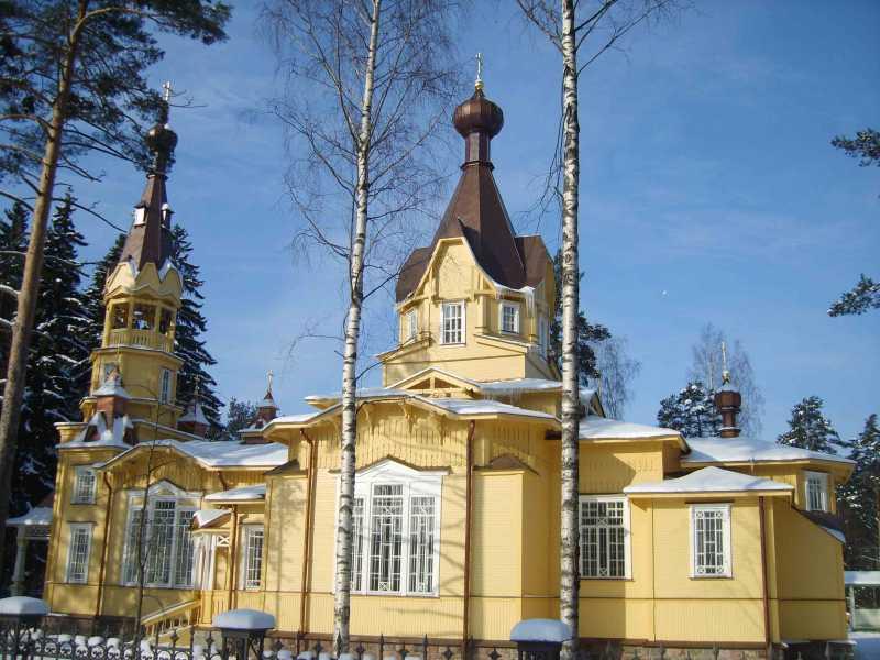 Церковь свв. апп. Петра и Павла. Фото: Ольги Михайловны Соловьевой Wikimedia Commons)