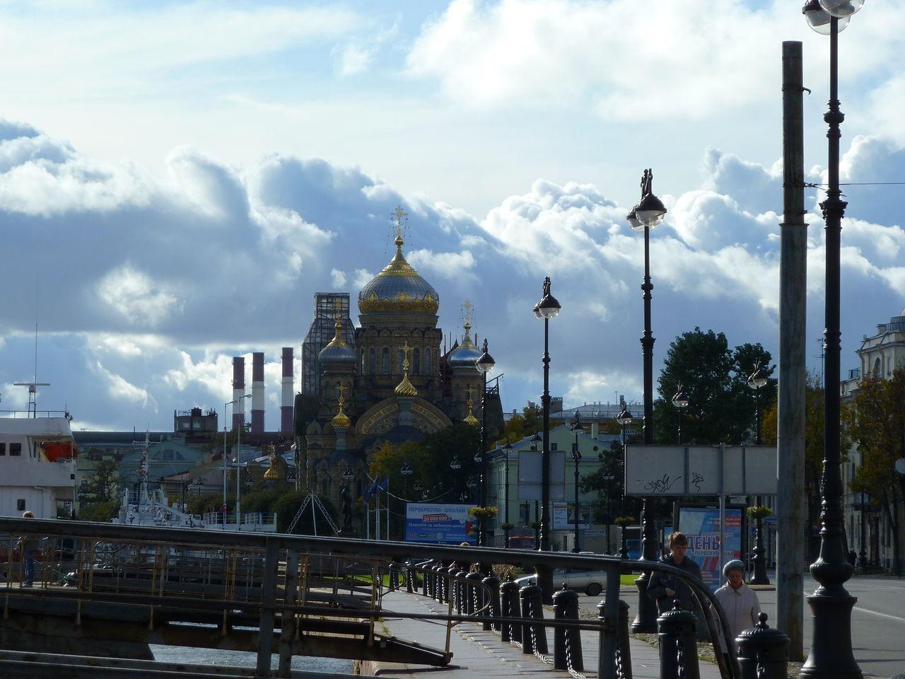 Церковь Успения Пресвятой Богородицы. Васильевский остров.Автор фото: Viktor13 (Wikimedia Commons)