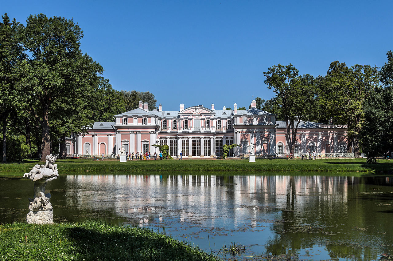 Китайский дворец в парке Ораниенбаума. Автор фото: Florstein (WikiPhotoSpace)