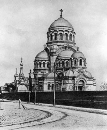 Храм до 1917 г. Автор: неизвестен, Wikimedia Commons