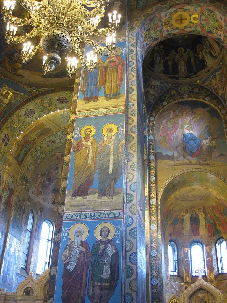 Внутреннее убранство восточной части храма. Автор фото: Deror avi (Wikimedia Commons)