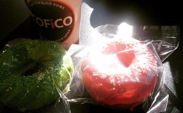 Кофе и бейглы COFICO.