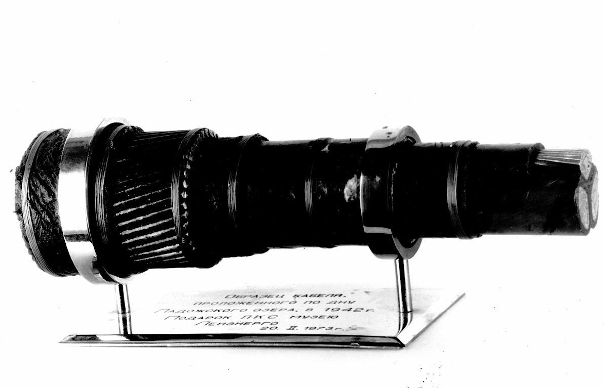 """Образец """"Кабеля жизни"""". Источник: архивные фотографии ТГК-1"""