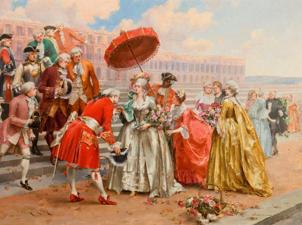 Дамы и кавалеры. Henri Victor Lesur. Источник: