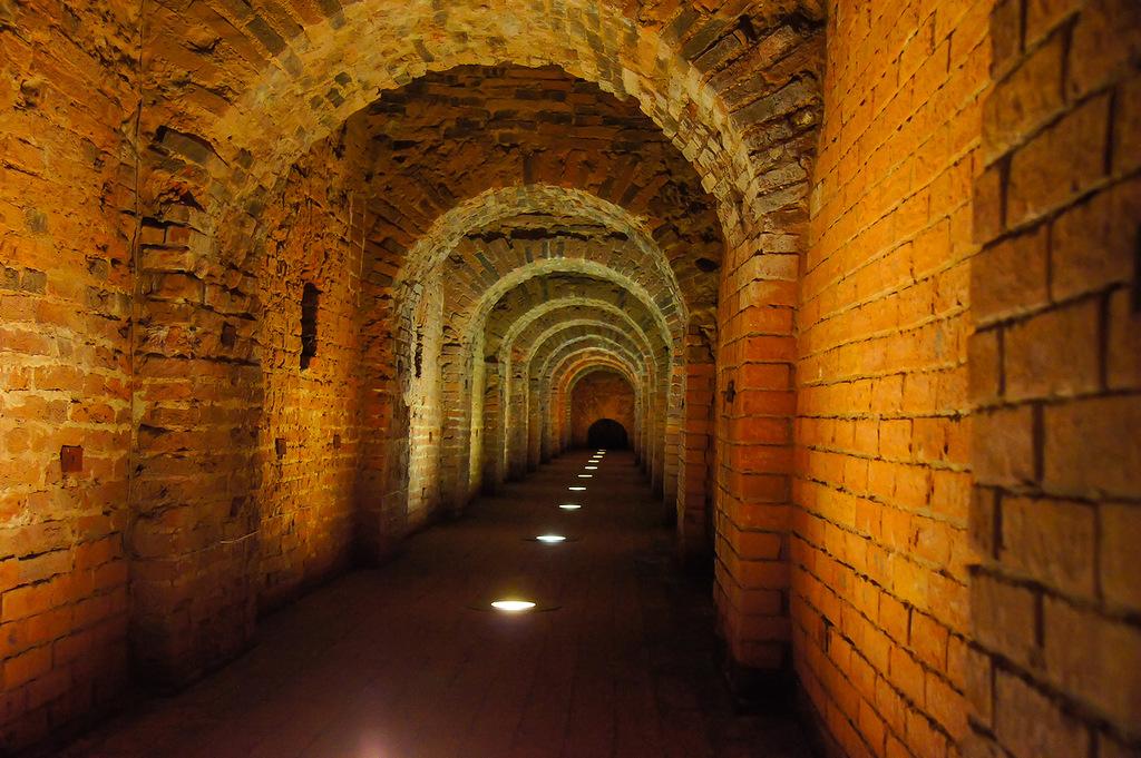 В крепостном подземелье