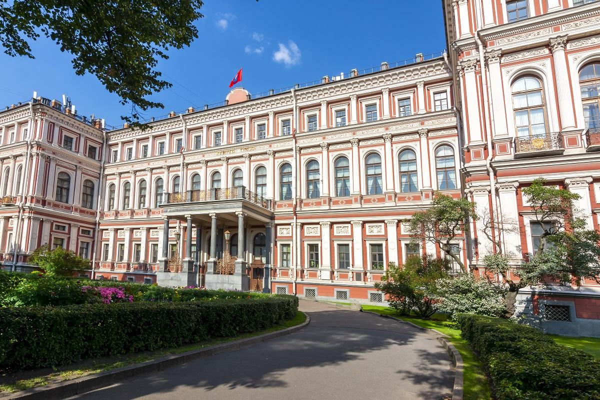 Николаевский дворец (Дворец труда) в Санкт-Петербурге, Россия
