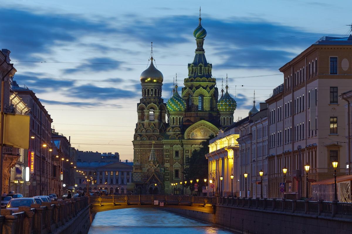 Спас на Крови. Белые ночи в Санкт-Петербурге