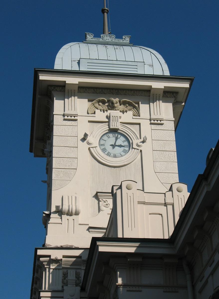 Витебский вокзал. Часовая башня
