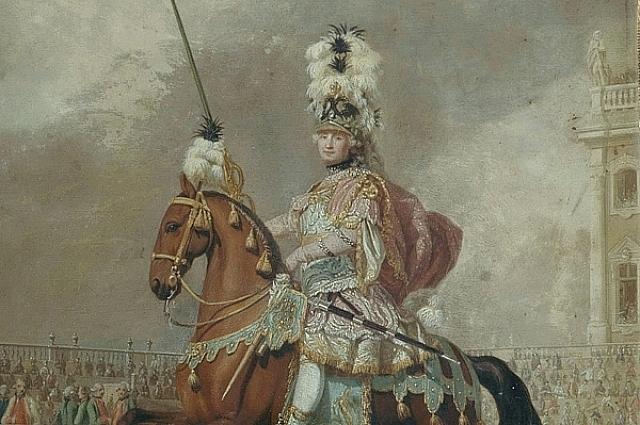 Граф Орлов участвовал в карусели в составе римской кадрили. Фото: Public Domain