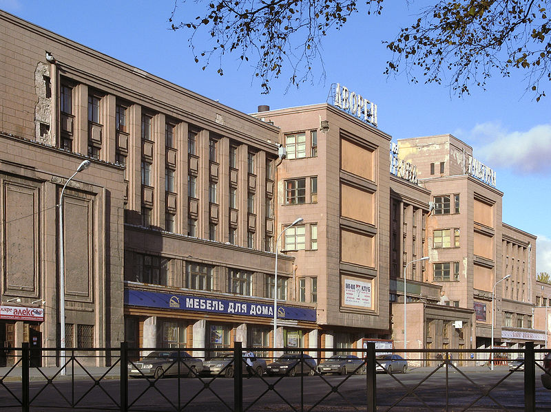 ДК им. Кирова, дом № 83, источник фото: Wikimedia Commons, Автор: Крижановский Андрей