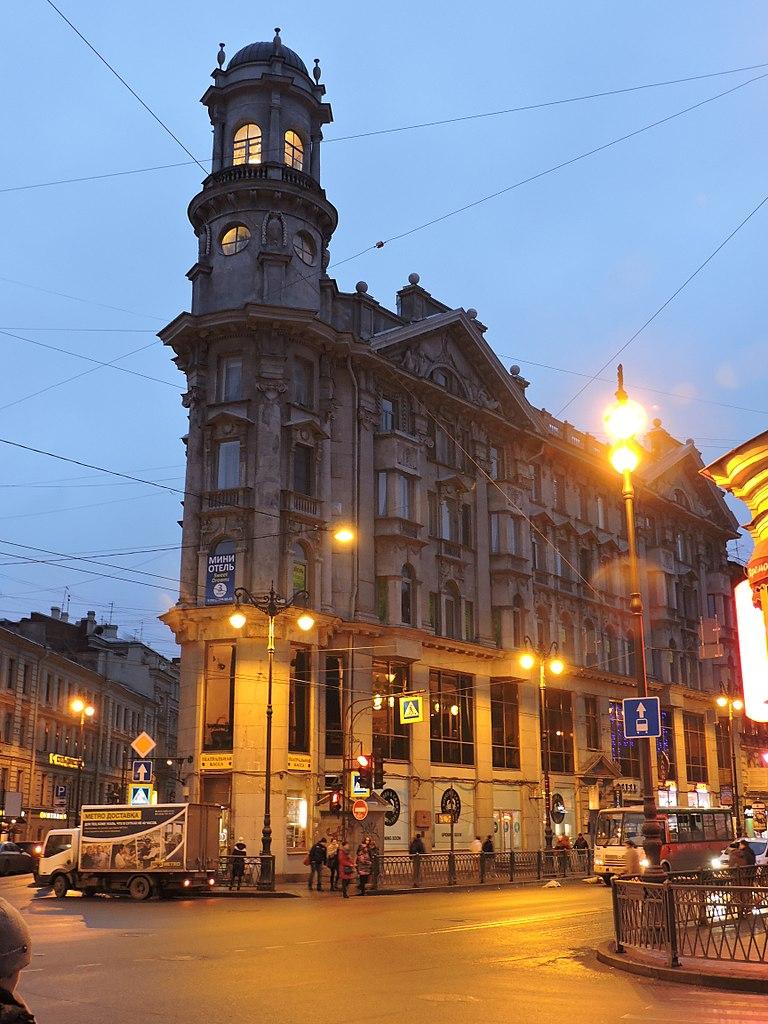 Дом купца Ш. З. Иоффа. Фото: Monoklon (Wikimedia Commons)