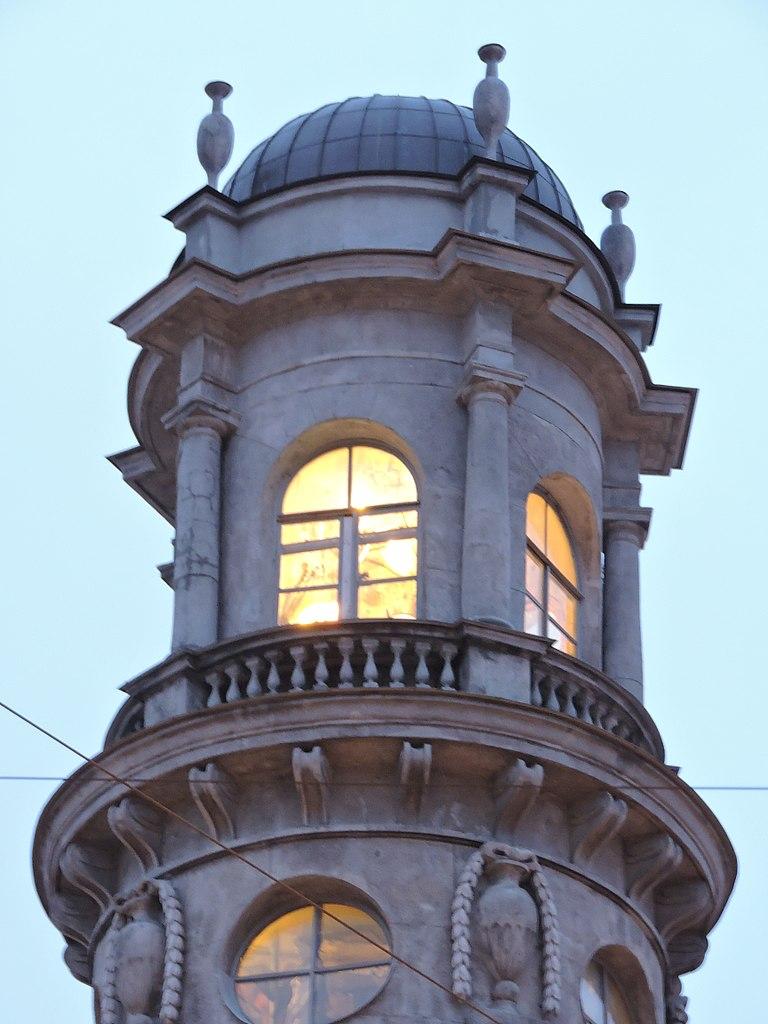Дом купца Ш. З. Иоффа (башенка). Фото: Monoklon (Wikimedia Commons)