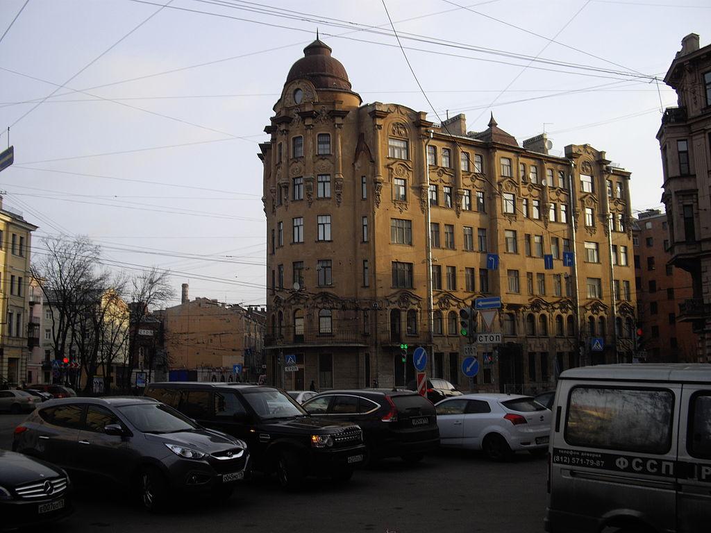 Дом Савина на Большой Пушкарской. Потехин, https://commons.wikimedia.org/