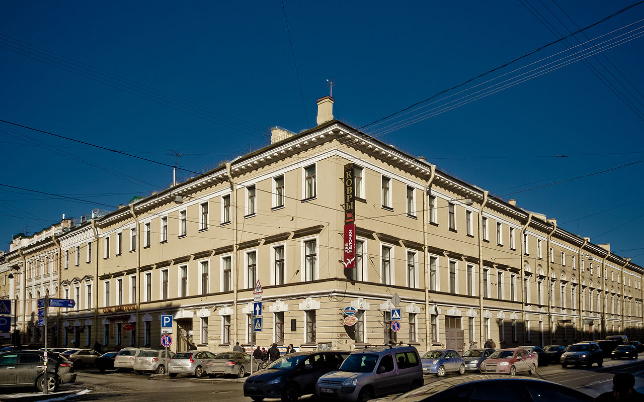 Дом Яковлевой. Фото: Florstein (Wikimedia Commons)