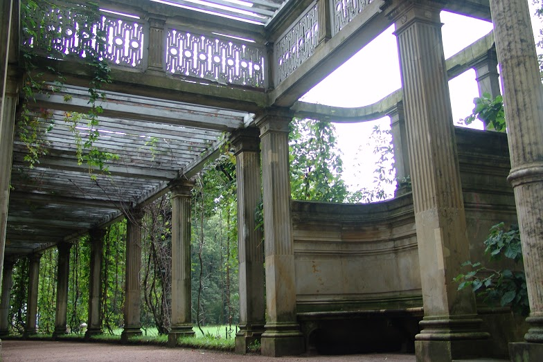 Висячий сад, г. Пушкин. Автор: Peterburg.center