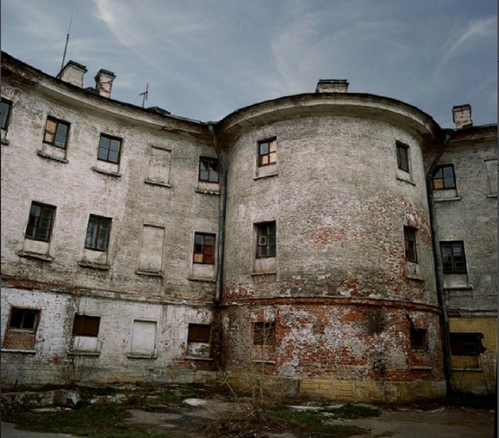 Новая Голландия. Двор тюрьмы. Фото: Петр Тимофеев, 2011
