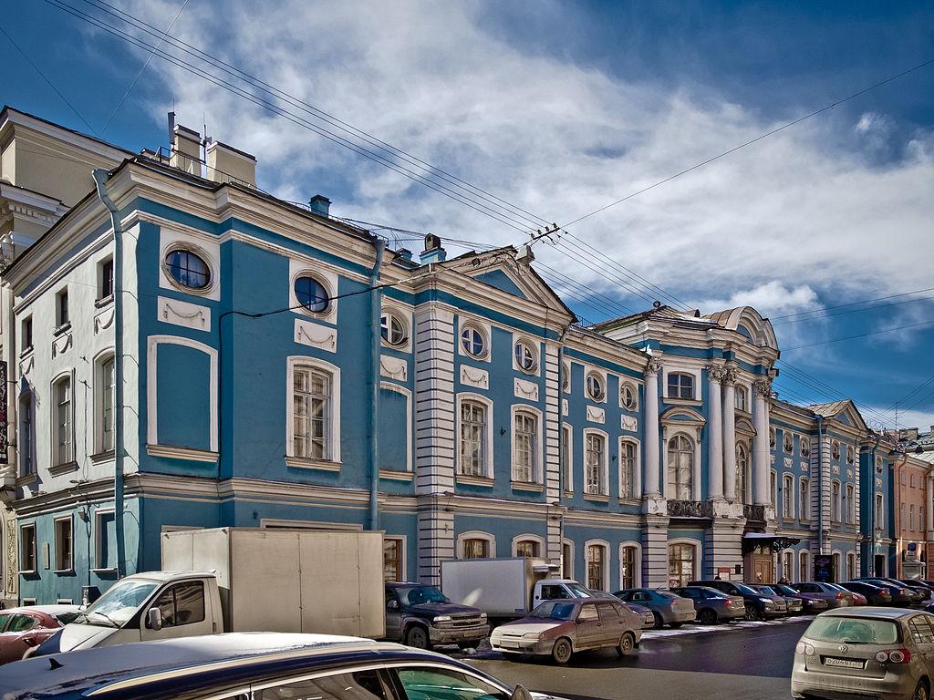 Дворец Шувалова. Фото: Florstein (Wikimedia Commons)
