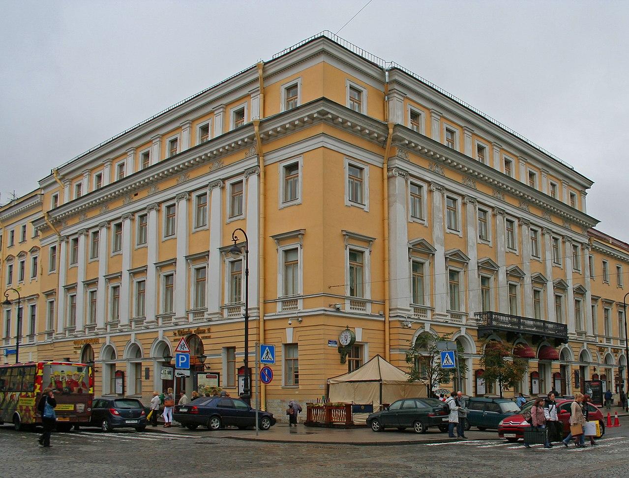 Дворянское собрание — Филармония имени Д. Д. Шостаковича. Фото: Florstein (Wikimedia Commons)