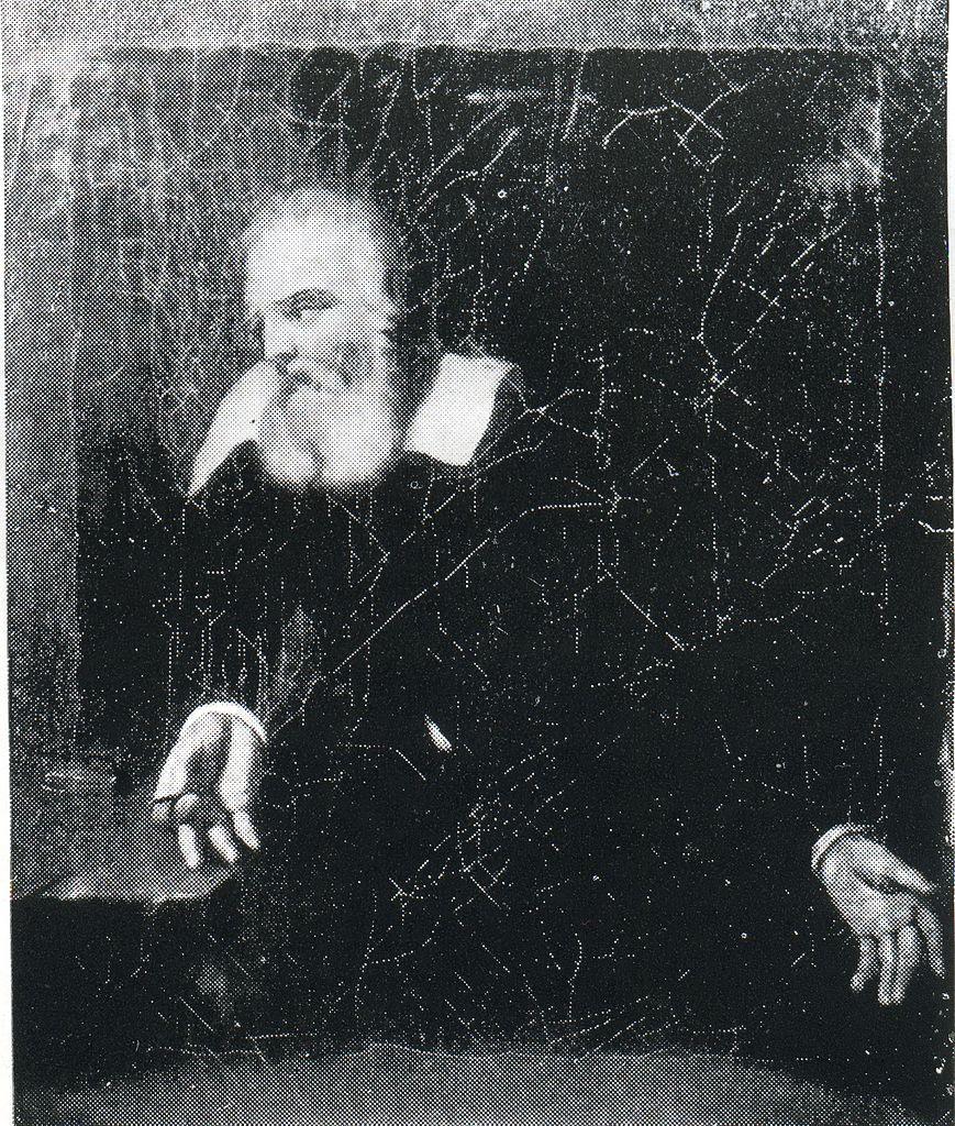 Галилей в тюрьме. Картина Мурильо, 1643, 1645 или 1646 г. Источник: Wikimedia Commons