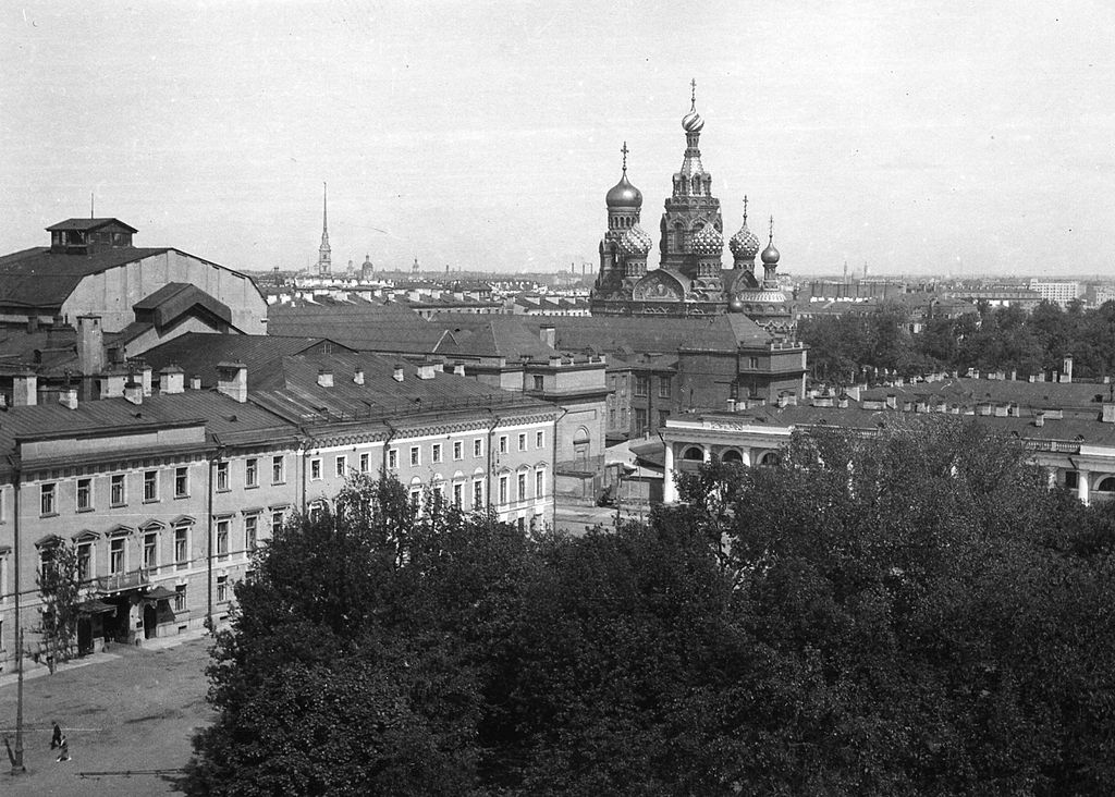 Спас на Крови. 1935 г. Источник: Wikimedia Commons