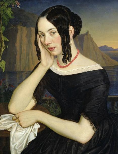 Katharina Kern Of Sterzing191660 Katharina Kern of Sterzing, 1842 (oil on canvas), Wasmann, Rudolph Friedrich (1805-86)