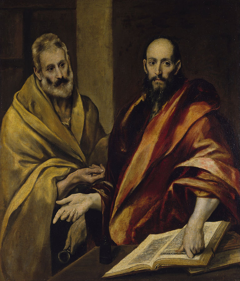 """Апостолы Петр и Павел"", Эль Греко, источник фото: Wikimedia Commons"