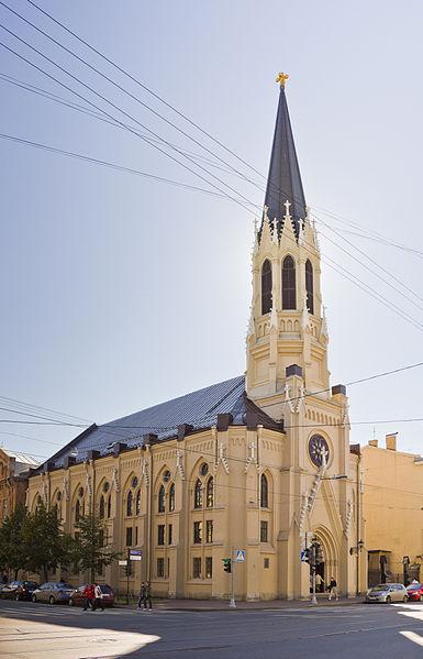 Eвангелическо-лютеранская церковь Святого Михаила, источник фото: Wikimedia Commons, Автор: Lion10