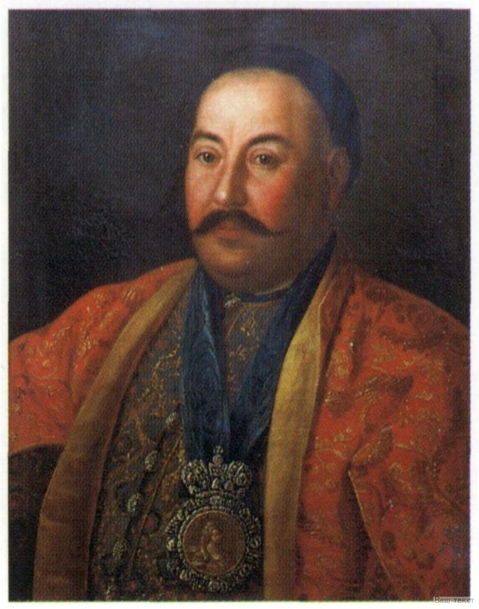 Портрет казачьего генерала Ф. И. Краснощёкова, 1761 г. Русский музей