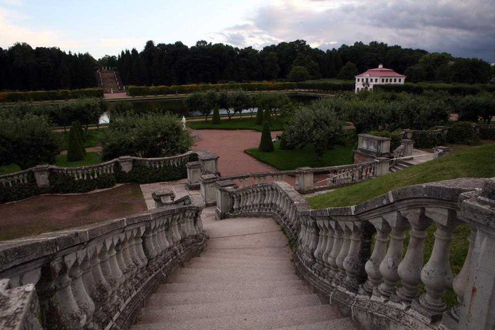 Сад Венеры и дворец Марли. Фото: peterhofmuseum.ru
