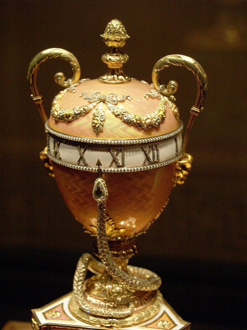 Яйцо Фаберже из музея Фаберже