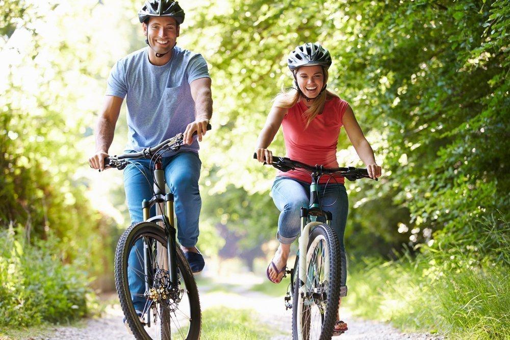 Велоспорт в городских парках