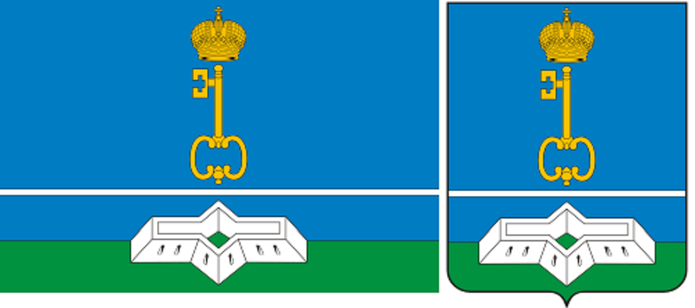 Флаг и герб Шлиссельбурга. Фото: vector-images.com